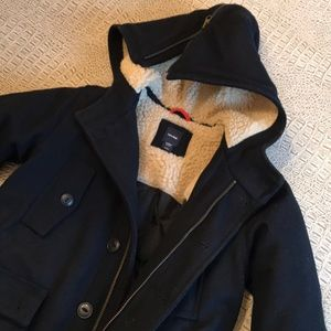Like new boys wool coat